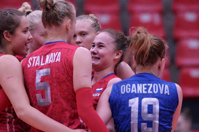 FIVB Volleyball Girls' U18 World Championship Peru 2015 - European forces invade quarterfinals